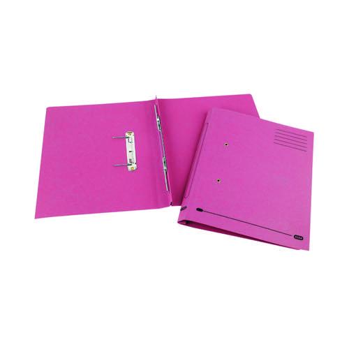 Elba Spirosoft Spring Foolscap Pink (Pack of 25) 100090162