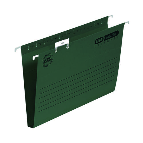 Elba Ulti Vert Suspension File 30mm FC Green (Pack of 50) 100331114
