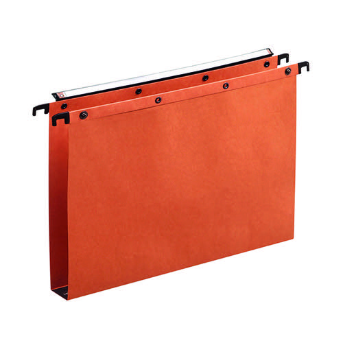 Elba Suspension File Manilla Foolscap Orange (Pack of 25) 100330314