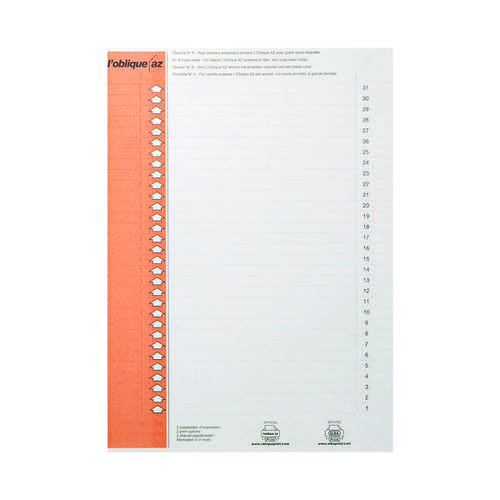 Elba Suspension Files Label Sheet Lateral (Pack of 10) 100330212