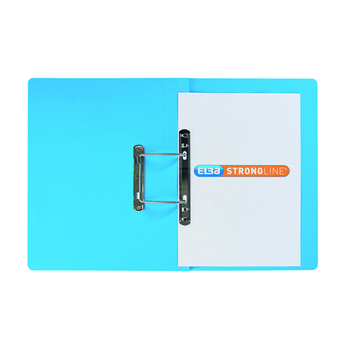 Elba Spring File Manilla Foolscap Blue (Pack of 25) 100090035