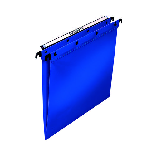 Elba Suspension File PP Foolscap Blue (Pack of 25) 100330370