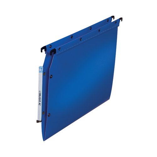 Elba Ultimate Lateral File Vbtm PP A4 Blue (Pack of 25) 100330583
