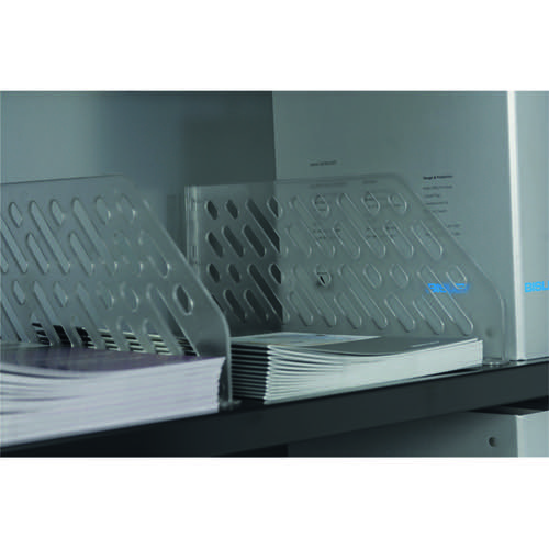 Bisley Shelf Divider Plastic Clear BSDP5 (Pack of 5)
