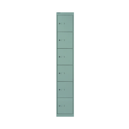 Bisley 6 Door Locker D457mm Goose Grey BY09217