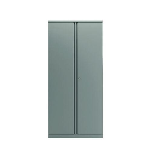 Bisley 2 Door Cupboard Goose Grey 1968mm BY74769