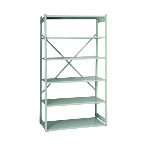 Bisley Shelving Extension Kit W1000xD460mm Grey BY838033