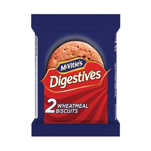 McVitie s Milk Original Digestives 29.4g (Pack of 24 x 2) 41420
