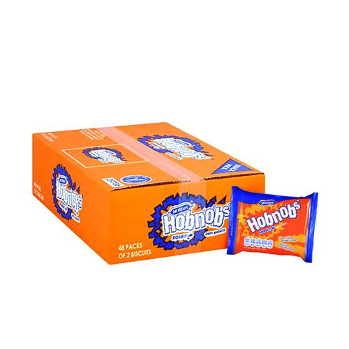 McVities Hobnobs Biscuits Twin Pack (Pack of 48) 39706 Food & Confectionery BZ19933
