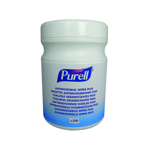 Purell Antimicrobial Antibacterial Sanitising Hand Wet Wipes (Pack of 270)