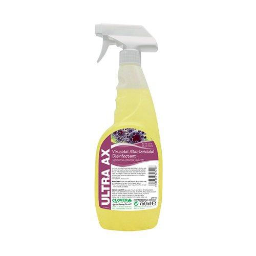 Ultra AX Disinfectant Spray 750ml (Pack of 6) 259