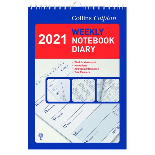Collins Weekly Notebook Diary 2021 60