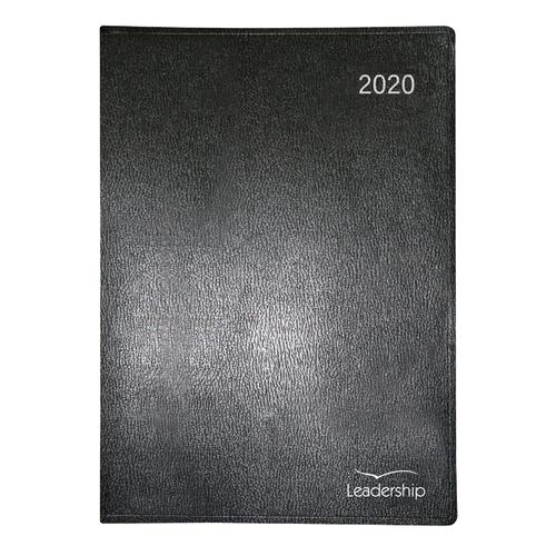 Collins Leadership Diary A4 Week to View Appointment 2020 Black CP6740