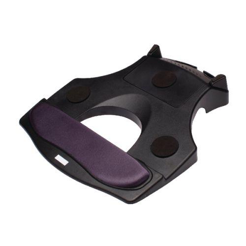 Contour Ergonomics Laptop Stand With Integrated Wrist Rest Black CE77690