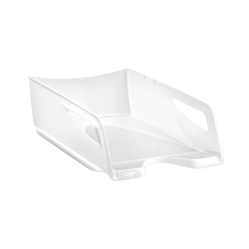 CEP Maxi Gloss Letter Tray Arctic White 1002200021