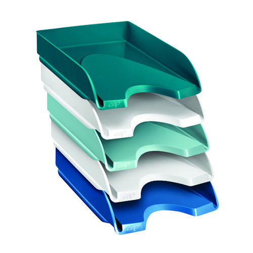 Riviera by CEP Letter Trays Multicoloured (Pack of 5) 1020050511