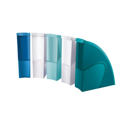 Riviera by CEP Magazine Files Multicoloured (Pack of 5) 1067450511 by CEP Office Solutions, CEP01509