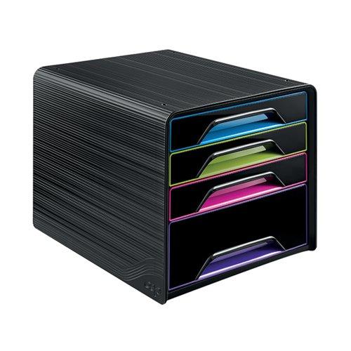 CEP Smoove 4 Drawer Module Black/Multicolour 7-113 GM