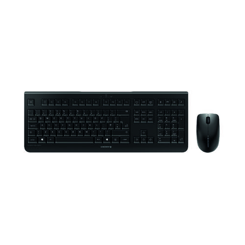 CHERRY DW 3000 Wireless Keyboard/Mouse Set Black JD-0710GB-2