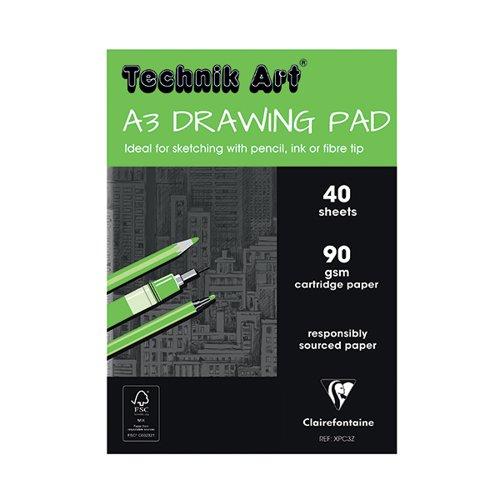 Technik Art Drawing Pad A3 90gsm XPC3