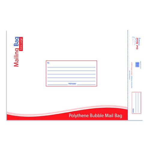 Bubble Mailing Bag XL 350x470mm (Pack of 10) OBS431