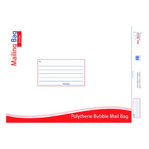 Bubble Mailing Bag Jumbo 500x650mm (Pack of 10) OBS426