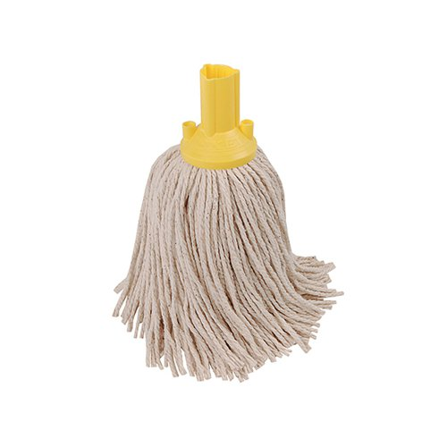 Exel 250g Mop Head Yellow (Pack of 10) 102268YL