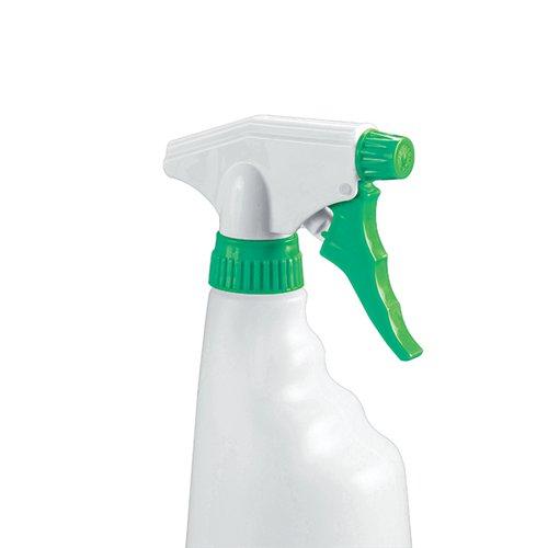 2Work Trigger Spray Refill Bottle Green (Pack of 4) 101958GN