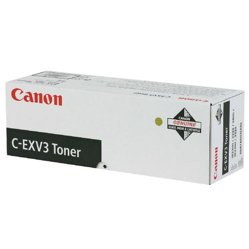 Canon C-EXV3 Black Copier Toner Cartridge 6647A002AA