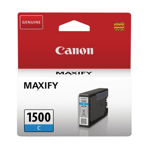 Canon PGI-1500C Cyan Ink Cartridge 9229B001