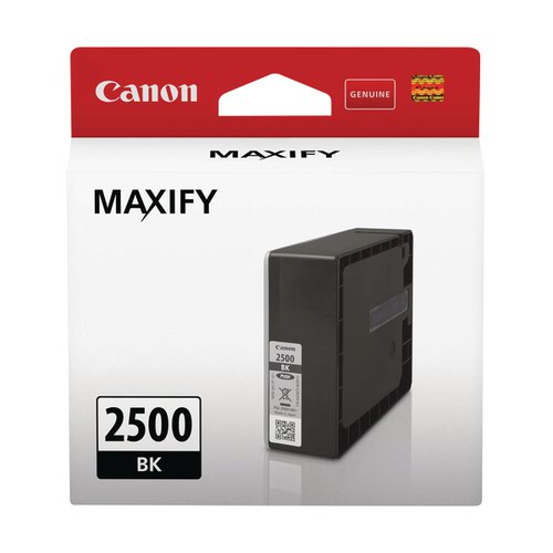 Canon PGI-2500BK Black Ink Cartridge 9290B001