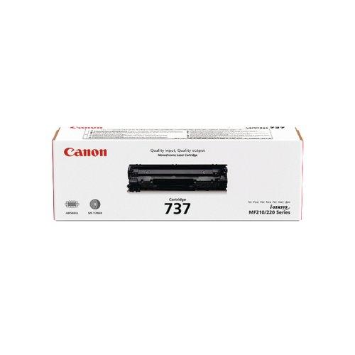 Canon 737 Black Laser Toner Cartridge 9435B002AA Toner CO01450