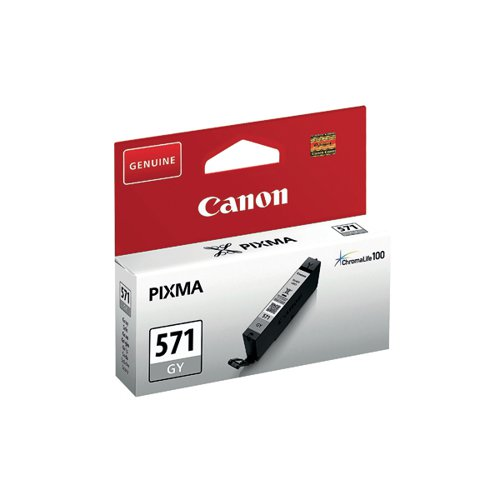 Canon CLI-571 Grey Ink Cartridge 0389C001