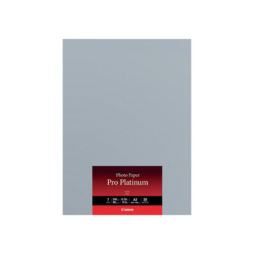 Canon A2 Photo Paper Pro Platinum (Pack of 20) 2768B067