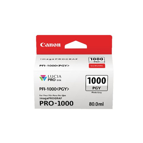 Canon Pro-1000 Photo Grey Ink Tank 0553C001