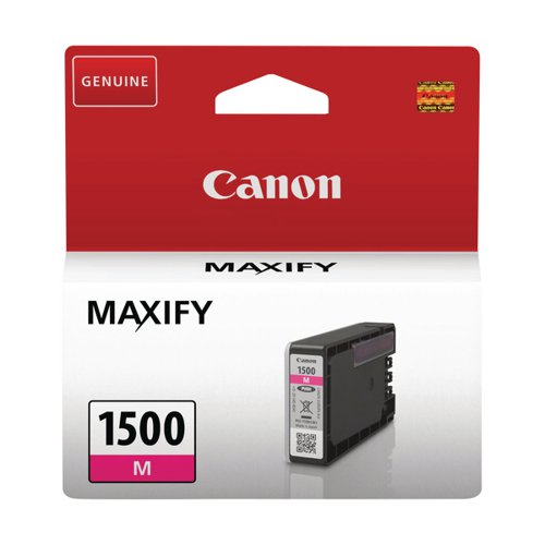 Canon PGI-1500 M Magenta Ink Cartridge 9230B001