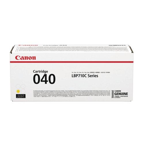 Canon 040 Yellow Standard Yield Toner Cartridge 0454C001