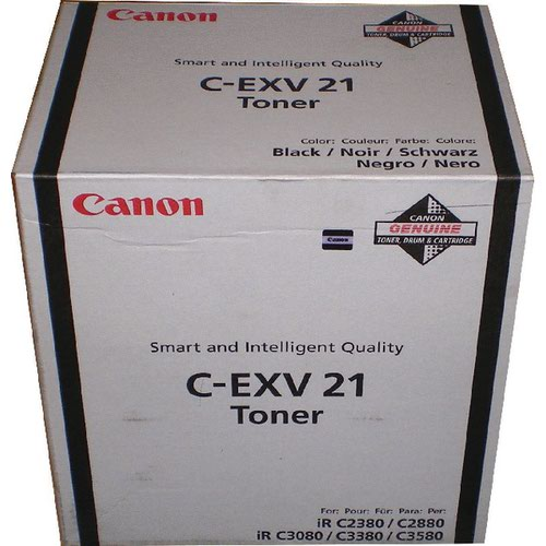 Canon C-EXV21 Black Toner Cartridge 0452B002
