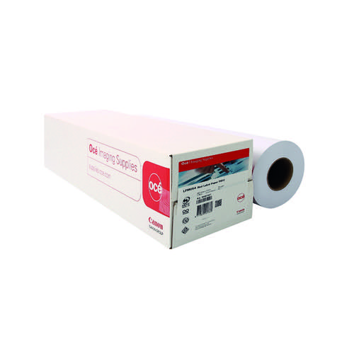 Canon Plain Uncoated Red Label Paper 594mm x 175m (Pack of 2) 97003495