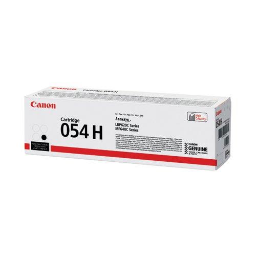 Canon 054 High Yield Laser Toner Cartridge Black 3028C002