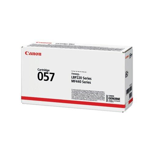 Canon 057 Black Laser Toner Cartridge 3009C002