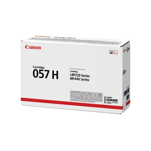 Canon 057H Black High Yield Laser Toner Cartridge 3010C002