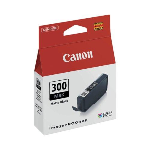 Canon PFI-300 Pro Series Matte Black Ink Tank 4192C001