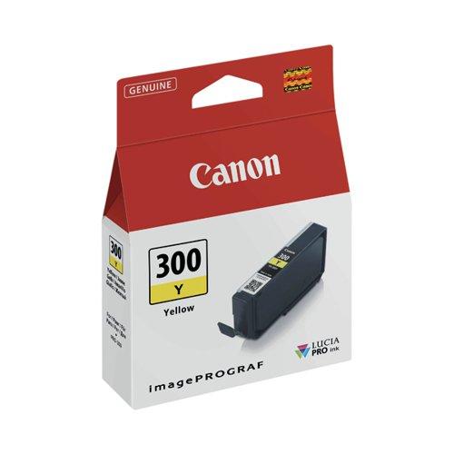 Canon PFI-300 Pro Series Yellow Ink Tank 4196C001