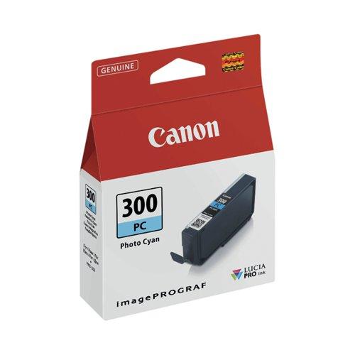 Canon PFI-300 Pro Series Photo Cyan Ink Tank 4197C001