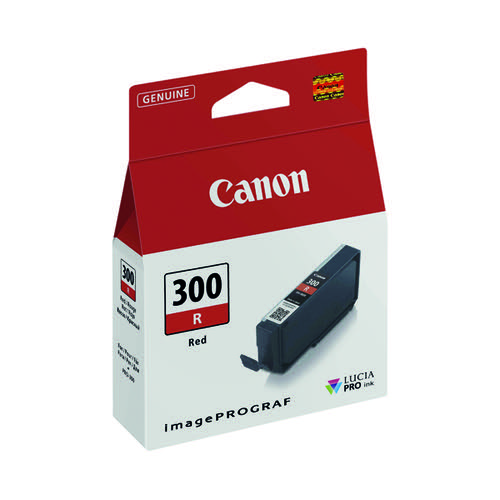 Canon PFI-300 Pro Series Red Ink Tank 4199C001