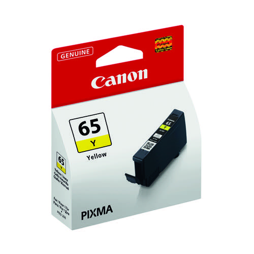 Canon CLI-65 Yellow Ink Tank 4218C001 by Canon, CO15931