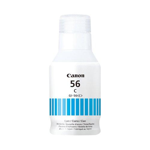 Canon GI-56 Cyan Ink Bottle 4430C001