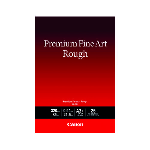Canon FA-RG1 A3+ Photo Paper Premium FineArt Rough (Pack of 25) 4562C004