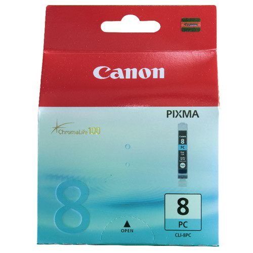 Canon CLI-8PC Cyan Inkjet Cartridge 0624B001